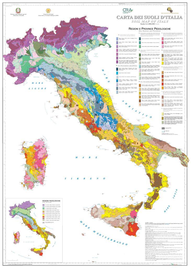 Carta dei Suoli Italia 2012